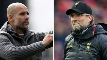 'we cannot drop points and win premier league' - klopp and guardiola united on title race