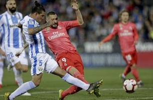 benzema rescues a 1-1 draw for madrid at leganes