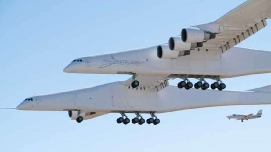The 'World's Biggest Plane' Takes Its Maiden Flight