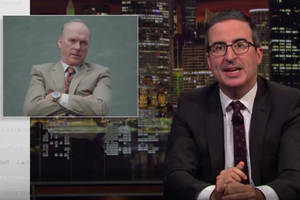 john oliver got omar from 'the wire' and walter white to help dramatize our opioid crisis (video)