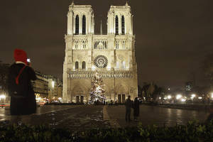 Notre Dame Cathedral's Spire Collapses in Fire, Paris Landmark's Frame at Risk