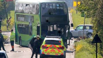 isle of wight crash: car 'pulled out in front of bus'