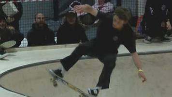 UK Skateboard Championships: Matthew Beer wins skateboard gold in 'ridiculous' style