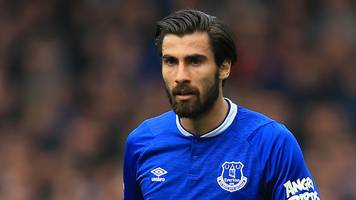 everton's andre gomes charged with violent conduct for aleksandar mitrovic tackle