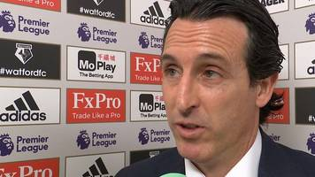 Watford 0-1 Arsenal: Gunners can control games better - Emery