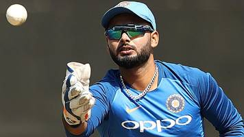 cricket world cup: rishabh pant left out of india squad