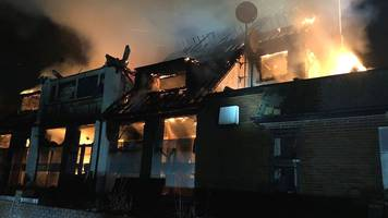 Fire at former North Worcestershire Golf Club in Northfield