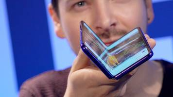 Hands-on with the Samsung Galaxy Fold
