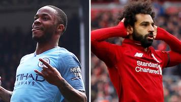 man city prolific and salah sensational - the crazy numbers behind the title race