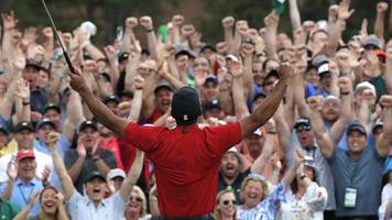 riding the tiger mania wave - what it was like to follow woods at the masters