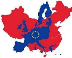 China courts eastern Europe, pledging respect of EU standards