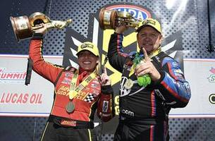 brittany force and robert hight pick up wins at the spring nationals | 2019 nhra drag racing