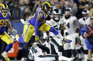 la rams' todd gurley not saying much about health of knee