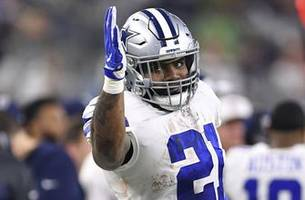 Skip Bayless: Ezekiel Elliott is setting a 'great example' showing to Cowboys workouts without new deal