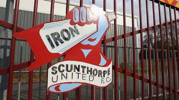 scunthorpe united to have £56k planning fee returned