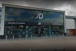 police name two men charged after jd sports shoplifters lead officers on 4-mile chase