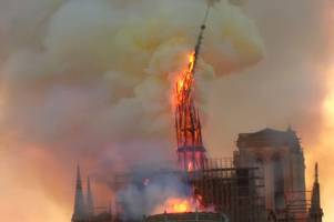 Lincolnshire reacts to horror Notre Dame cathedral fire