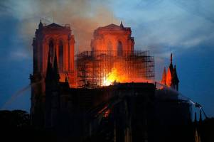 notre dame devastated by heartbreaking fire - what we know so far