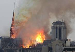 how notre dame's age and design fuelled flames and foiled firefighters