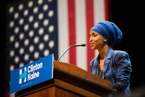 ilhan omar is 'disrespectful' to us and 'disrespectful' to israel: trump