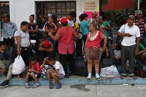 mexican city bars caravan, says migrants are safety threat