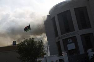 un security council considering british-drafted resolution for ceasefire in libya