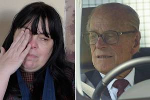 Prince Philip's sobbing car crash victim facing her own motoring charges