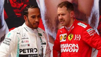 flawless mercedes pile pressure on ferrari - palmer column