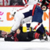 fight: ice hockey icon alex ovechkin brutalises rookie in stanley cup
