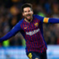 Football: Barcelona thrash Manchester United, Juventus knocked out by Ajax