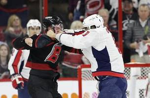svechnikov in concussion protocol after fight with ovechkin