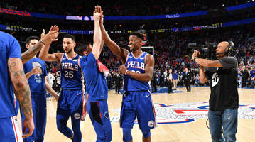 sixers flash championship-level ceiling in game 2 third quarter vs. nets