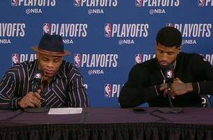 Westbrook, George Full Press Conference after Game 2 Loss to Trail Blazers