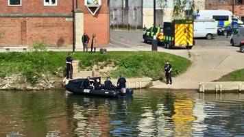 vehicle in river severn 'may be linked to missing person'
