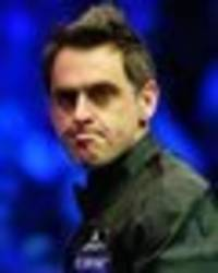 ronnie o'sullivan world snooker championship draw claim made by history maker james cahill