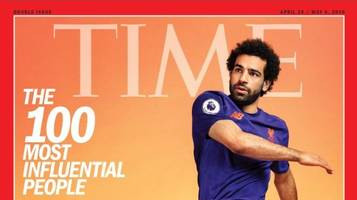 mohamed salah named one of world's 100 most influential people by time