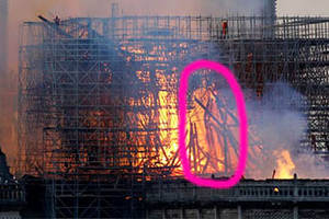 Do You See Jesus In The Notre Dame Fire?