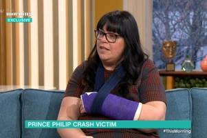 Woman hurt in crash with Prince Philip faces separate motoring charges