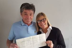 colchester couple thought 'it was a hoax' when their lost marriage certificate was found years later