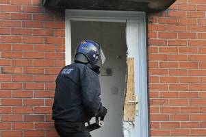police name two men due in court following monkey dust raids