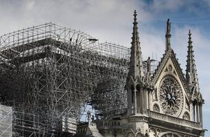France announces global architects' competition to rebuild Notre Dame Cathedral