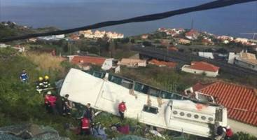 [UPDATE] At Least 28 Dead, 22 Injured In Madeira Bus Crash