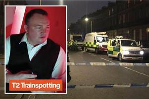 breaking: trainspotting 2 star named as victim of edinburgh shooting attack