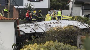 Madeira crash: At least 28 killed on tourist bus near Caniço