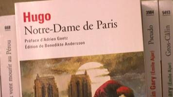 Notre-Dame fire: Booksellers urge Hunchback publishers to donate