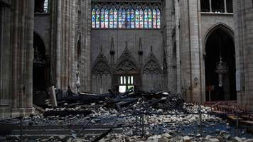 notre-dame fire: macron says new cathedral will be 'more beautiful'