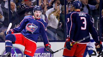 Blue Jackets' All-In Approach Pays Off With Historic Sweep of Lightning