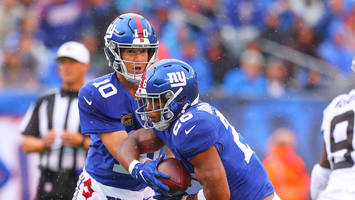 giants rb saquon barkley on criticism of eli manning: 'it bothers me'