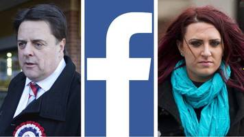 Facebook bans UK far right groups and leaders