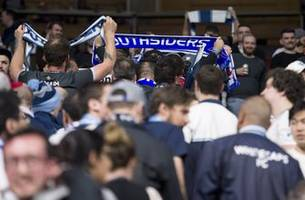Some Whitecaps fan walk out in solidarity against ex-coach
